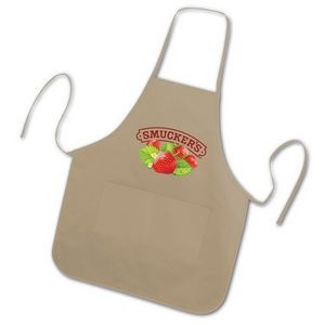 BrandGear™ Handy Aprons™ - Rounded Apron w/ 2 Pockets