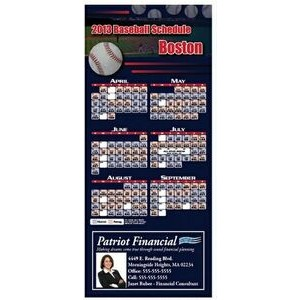 "Professional Baseball Sports Schedule Magnet (3 1/2""x8"")"