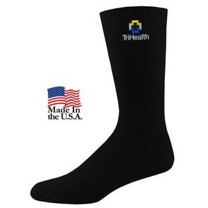 Non-Binding Relaxed Fit Crew Dress Socks