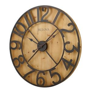 Bulova Silhouette Decorative Wall Clock