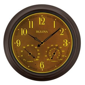 Bulova Weather Master Wall Clock