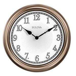 Bulova Light Time Wall Clock