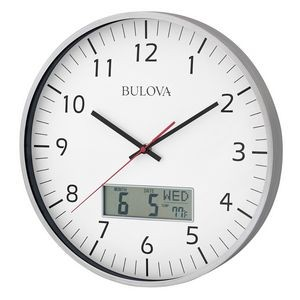 Bulova Manager Wall Clock