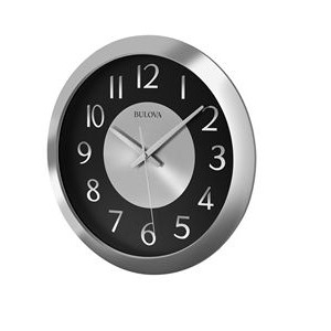 Bulova Music Streamer Bluetooth Wall Clock
