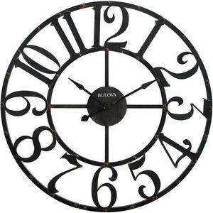 Bulova Gabriel Oversized Wall Clock