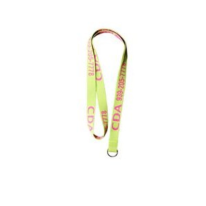 "Polyester Woven Lanyard (Priority - 36""x12"")"